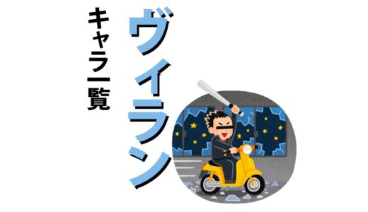ヒロアカ キャラ一覧【敵(ヴィラン)編】